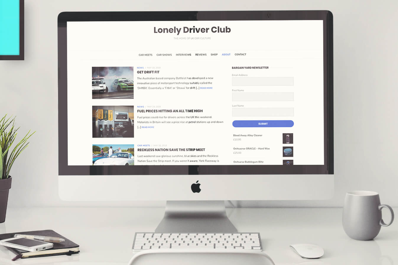 Lonely Driver Club Case Study Image