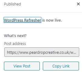 WordPress Refresher 4